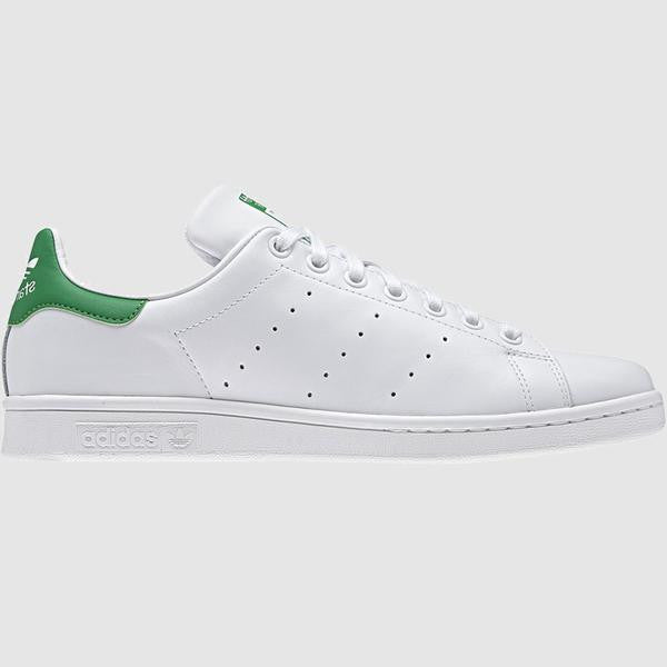 adidas Originals Men's Stan Smith Trainers - White/Green - side