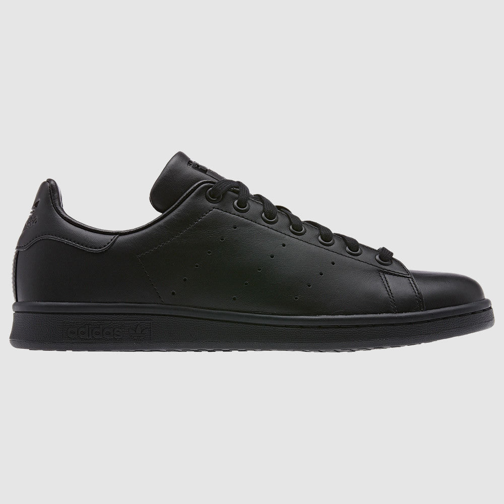 adidas Originals Stan Smith Trainers - Black - Side