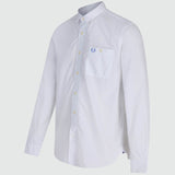 Fred Perry Concealed Tipped Long Sleeve Shirt - front2