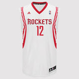adidas Houston Rockets Howard Replica Jersey - White - Front