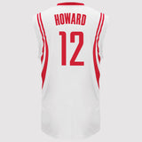 adidas Houston Rockets Howard Replica Jersey - White - back