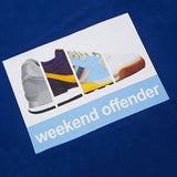 Weekend Offender Trainerspotting AW16 - Indigo - logo