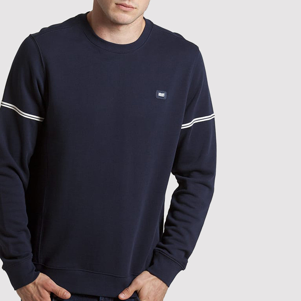 Weekend Offender Tarset Sweatshirt - Navy - front1