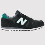 New Balance 373 Trainer - Black Green - Side