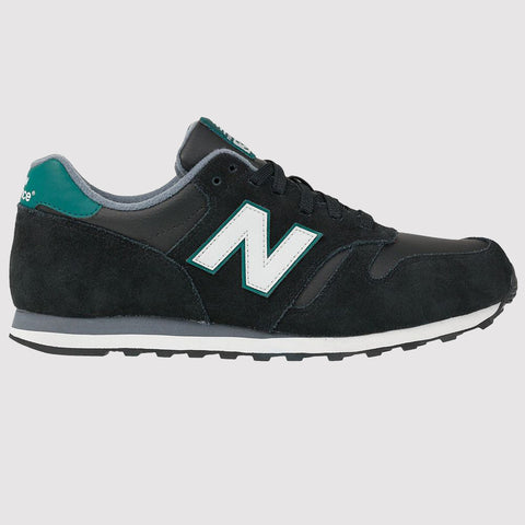 New Balance 373 Trainers - Black/Green