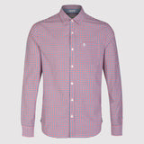 Original Penguin P55 Gingham Shirt - Chinese Red - front1