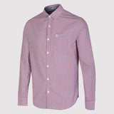 Original Penguin P55 Gingham Shirt - Chinese Red - Front2