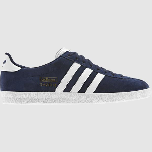 adidas Originals Men's Gazelle OG Trainer - Navy - side