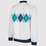 adidas Originals Argyle Ivan Lendl Track Top - White - Back