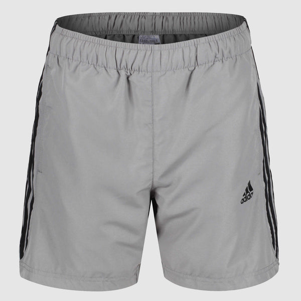 adidas 3 Stripes Chelsea Shorts - Grey - front