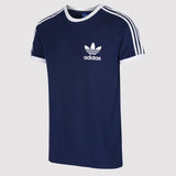 adidas Originals California Essentials T Shirt - Navy - front2