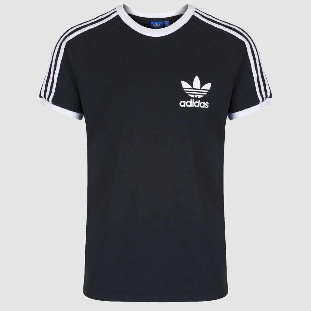 adidas Originals California Essentials Tee - Black - Front View
