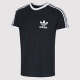 adidas Originals California Essentials Tee - Black - Angle View
