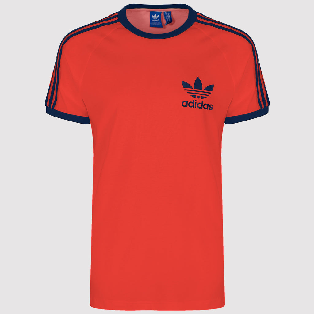 adidas Originals California Essentials T Shirt - Red