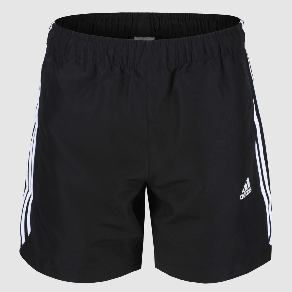 adidas 3 Stripes Chelsea Shorts - Black/White - front