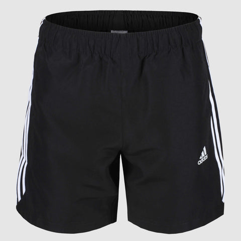 adidas 3 Stripes Chelsea Shorts - Black/White