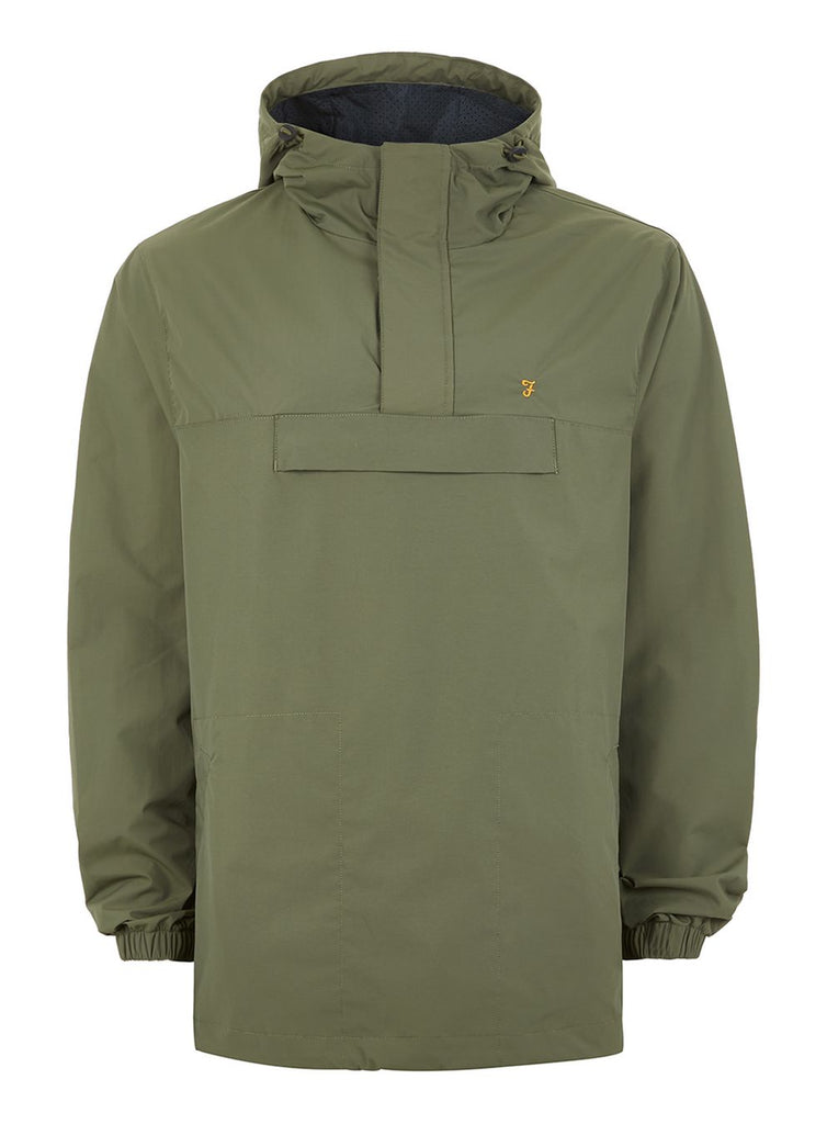 Farah Clydesdale Pullover Jacket - Green