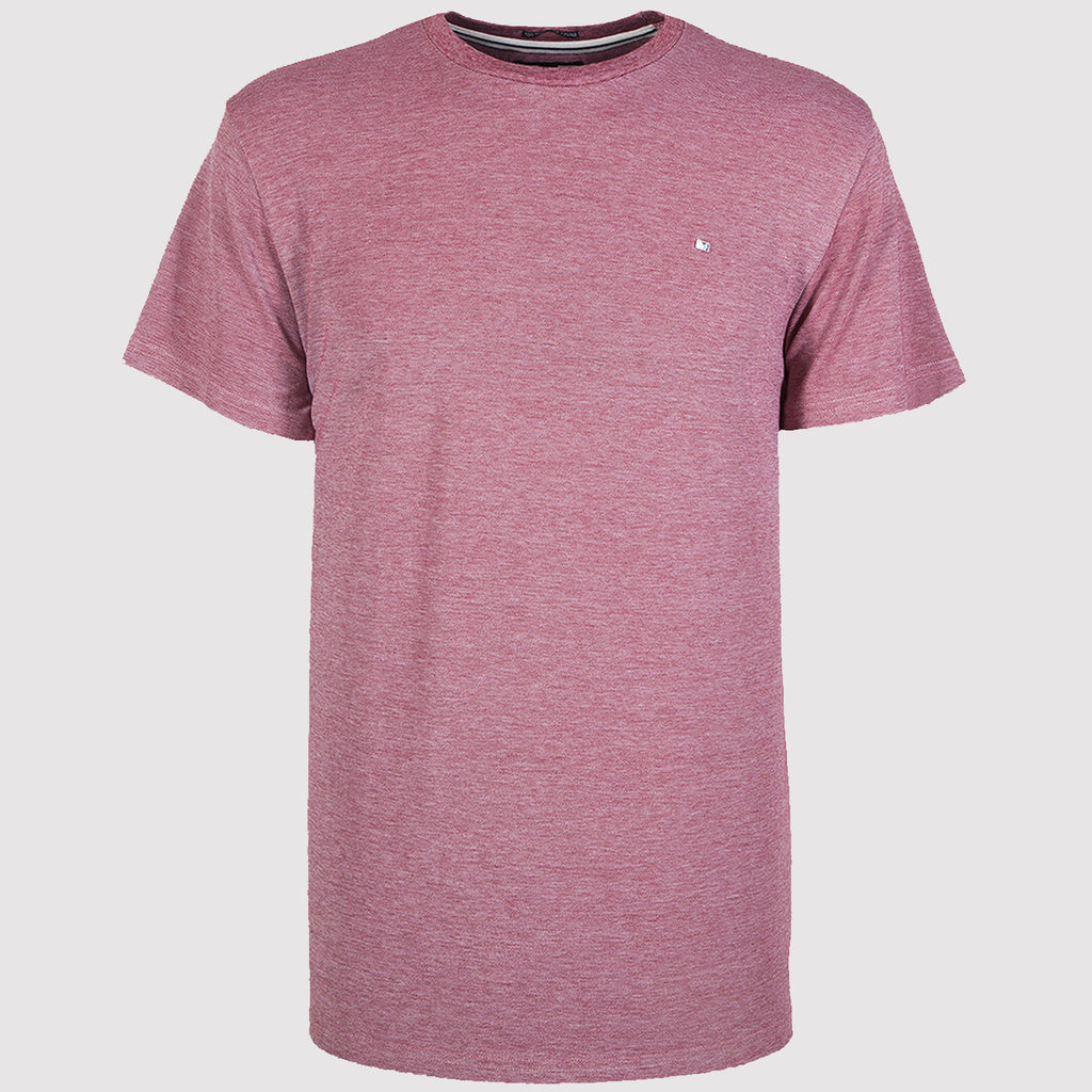 Weekend Offender Royce T Shirt - Red - Front