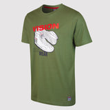 Vision Street Wear Men's Sneaker Tee Shirt - Green - front2