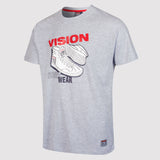 Vision Street Wear Men's Sneaker Tee Shirt - Light Grey - front2