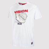 Vision Street Wear Men's Sneaker Tee Shirt - White - front2