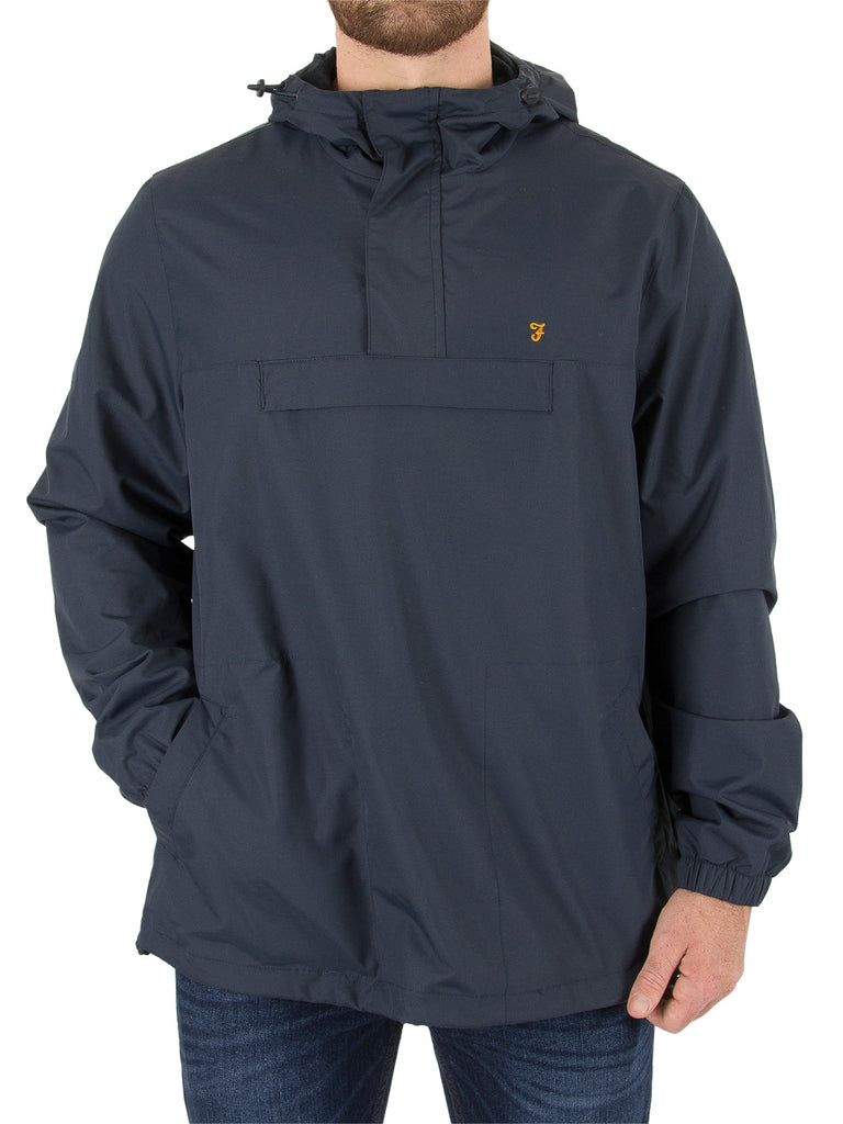 Farah Clydesdale Pullover Jacket - Navy