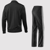 adidas Originals Men's Firebird Tracksuit - Black back