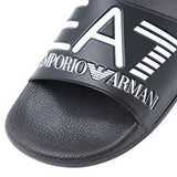 EA7 Armani Men's Slides in Black
