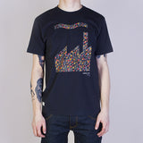 Marshall Artist Factory T Shirt - Navy - Model