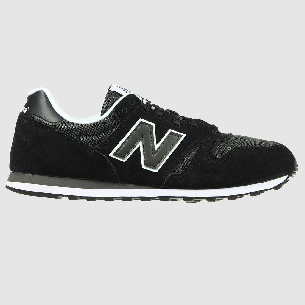 New Balance 373 Trainers - Black - Side