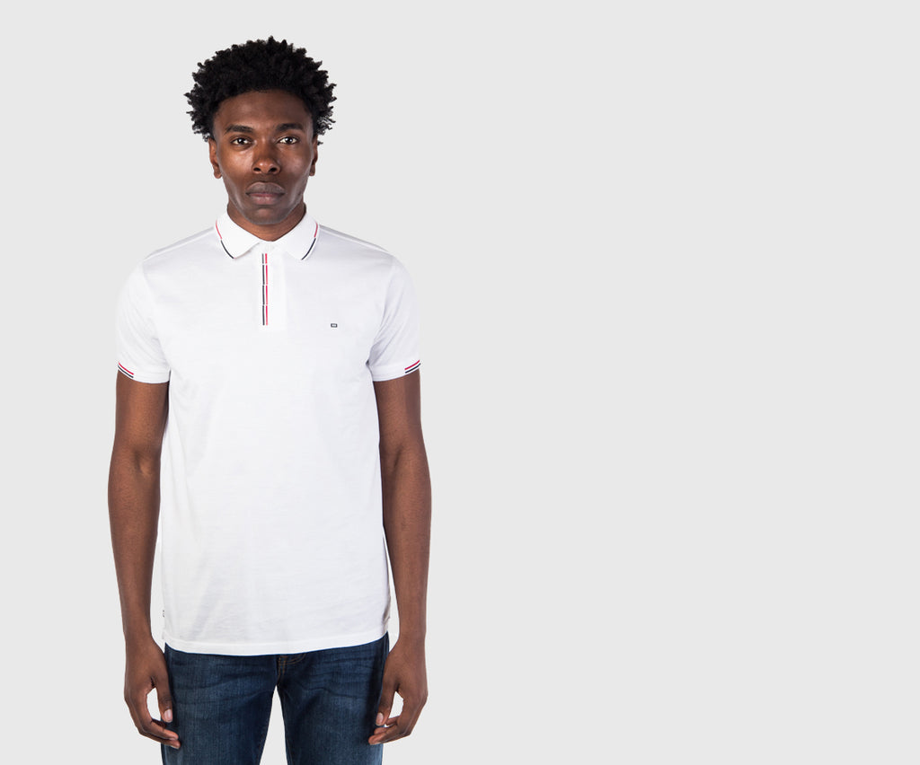 Weekend Offender Cage Polo Shirt - White