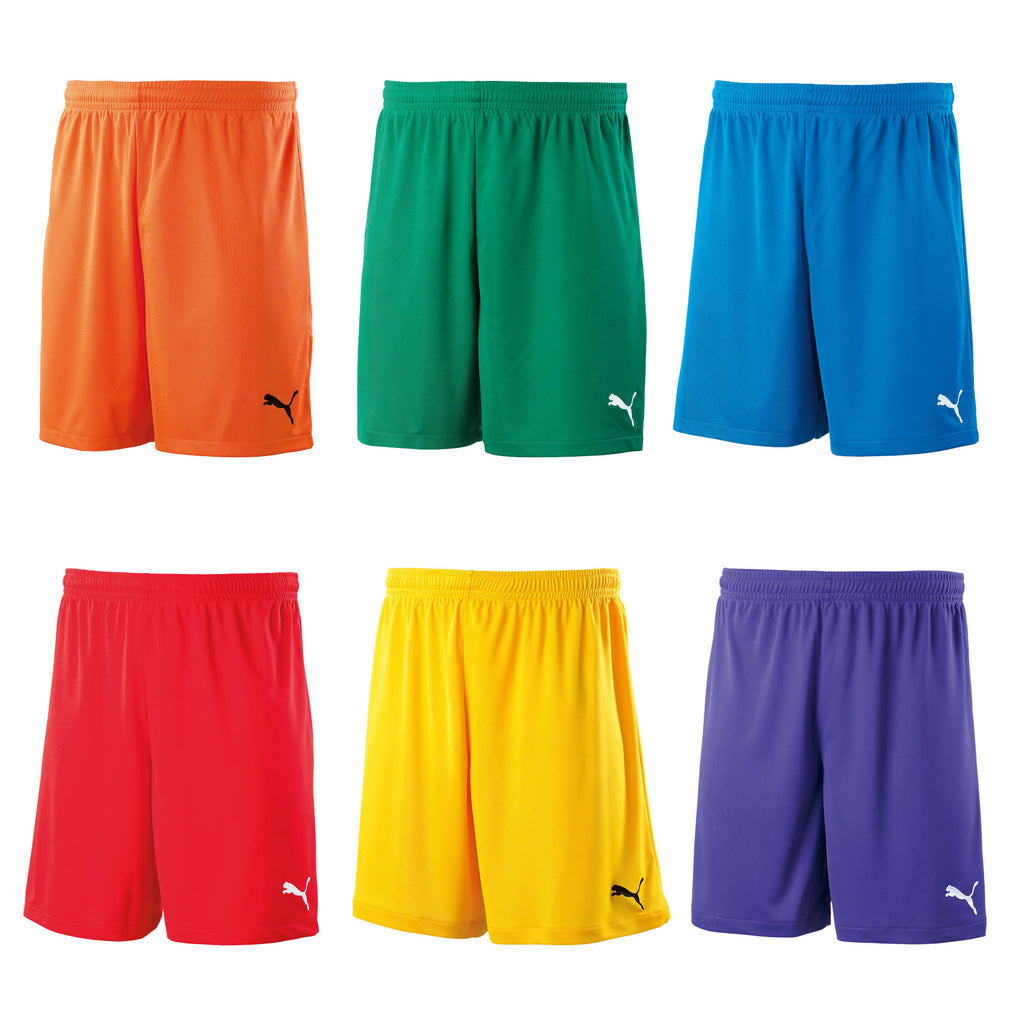 Puma Boys/Junior Velize Training Shorts - Orange, Yellow, Green, Purple, Red, Blue