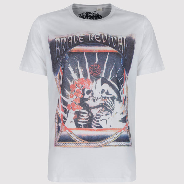 Diesel Wedding T Shirt - White - front1
