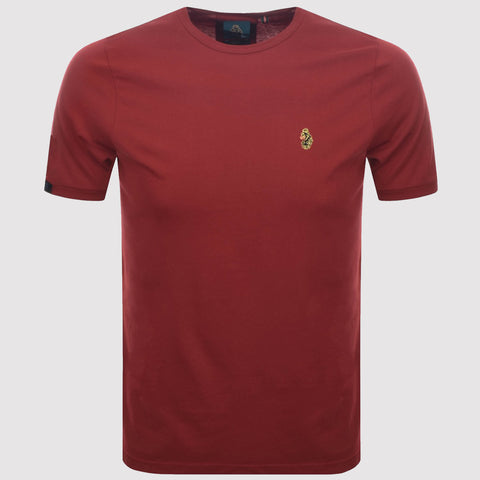 Luke Sport Traffs Core T Shirt - Cherry Red