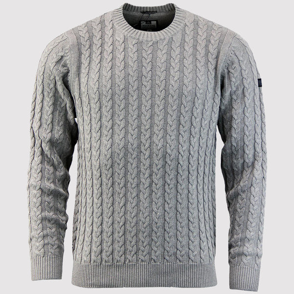 Weekend Offender Woods Knit Jumper - Grey
