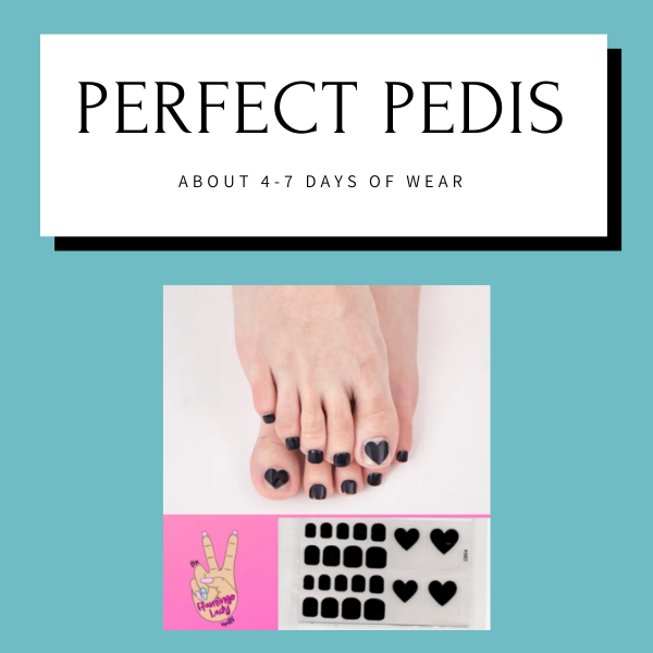 Pedicure Wraps