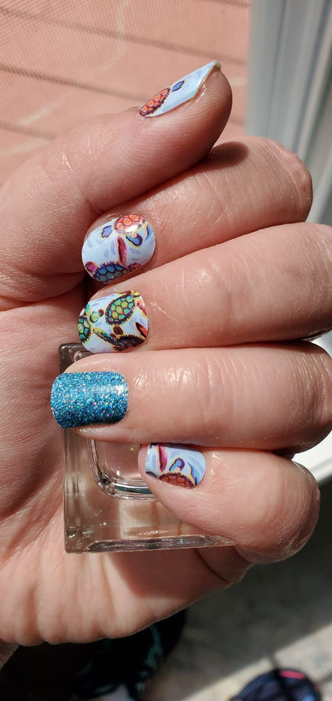 Totally Turtle- A TFLNails Exclusive!