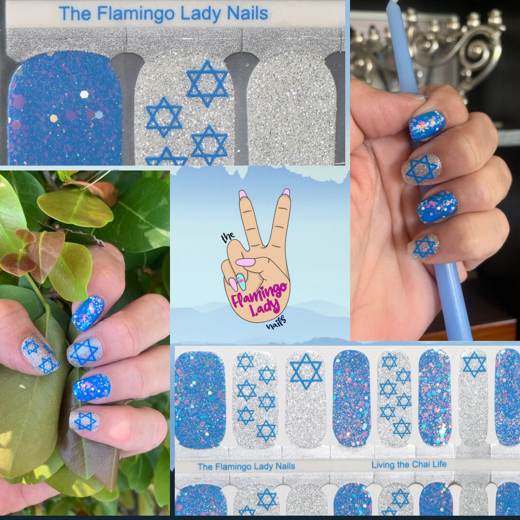 Living the Chai Life a TFLNails Exclusive - The Flamingo Lady Nails