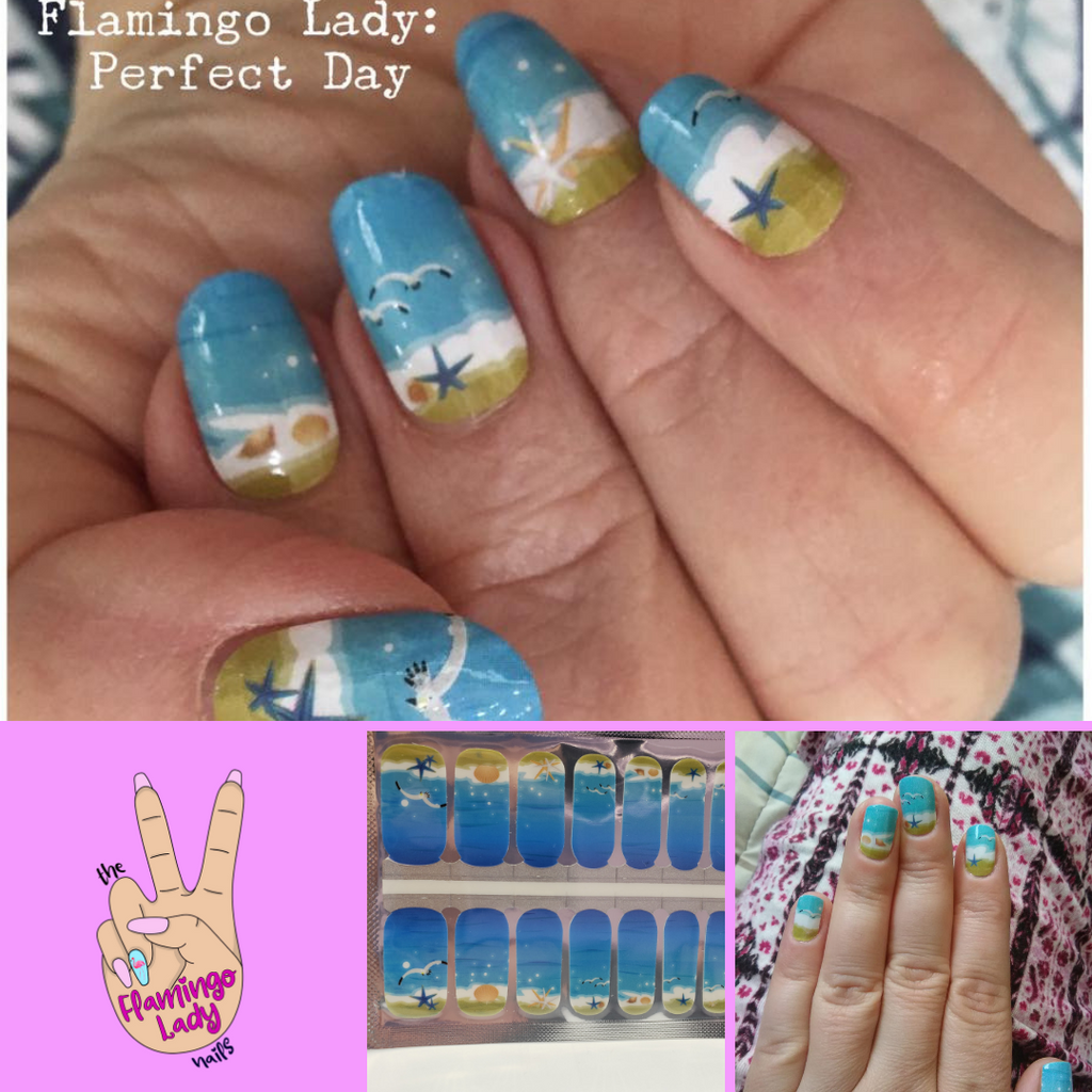 Perfect Day - The Flamingo Lady Nails