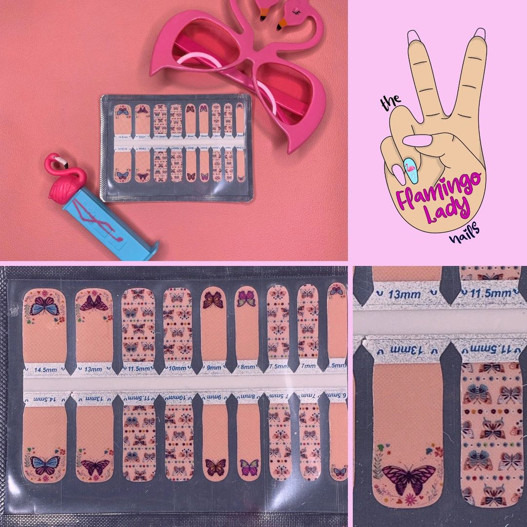 Little Butterfly - The Flamingo Lady Nails