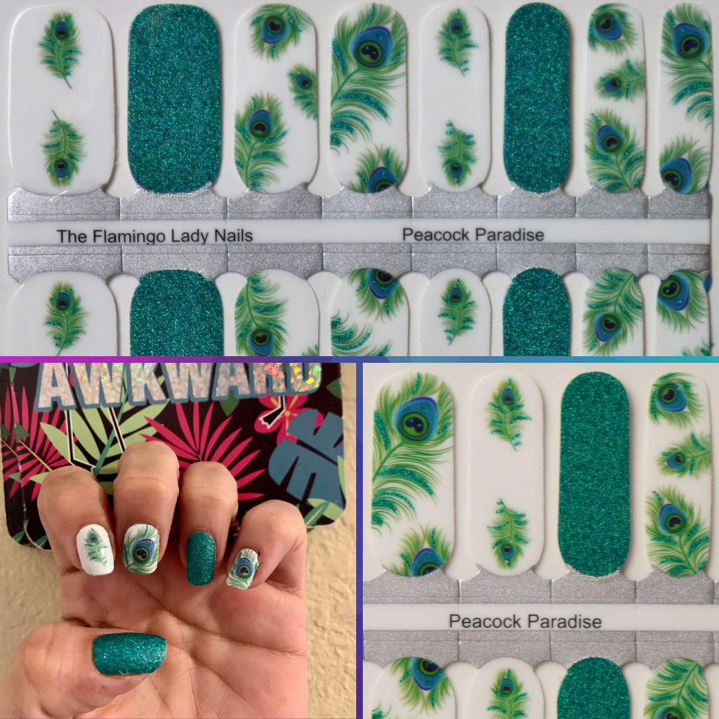 Peacock Paradise Exclusively for TFLNails