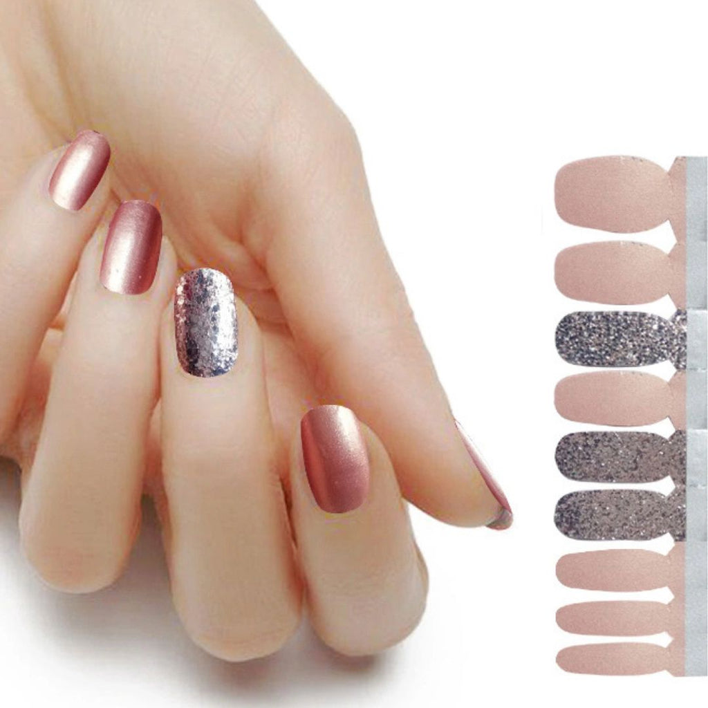 Lux Silver Peach - The Flamingo Lady Nails
