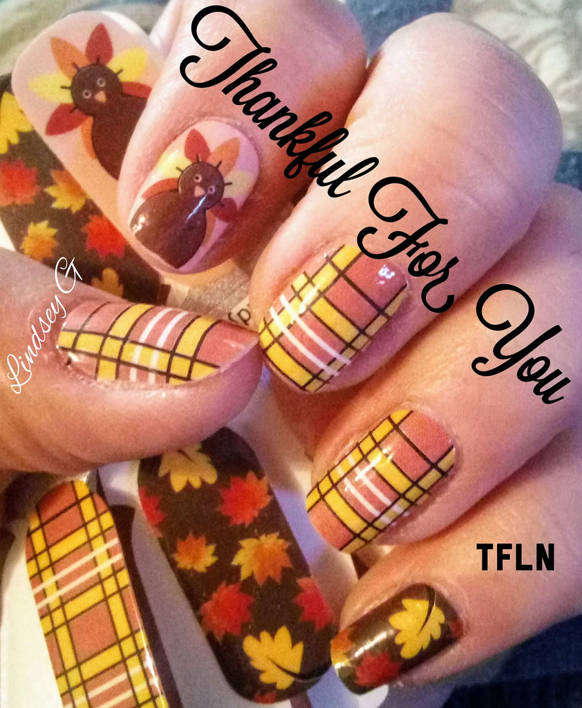 Thankful For You - A TFLNails Exclusive!