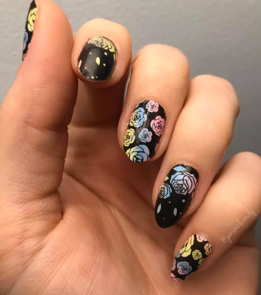 Rainbow of Roses - A TFLNails Exclusive!