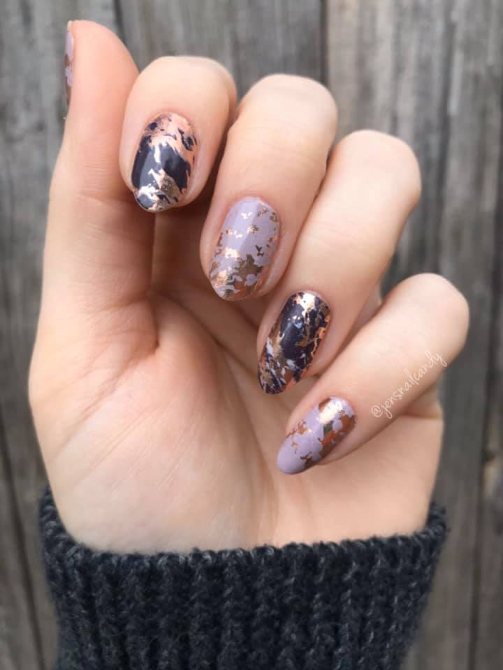 Marbled Perfection Exclusively by TFLNails