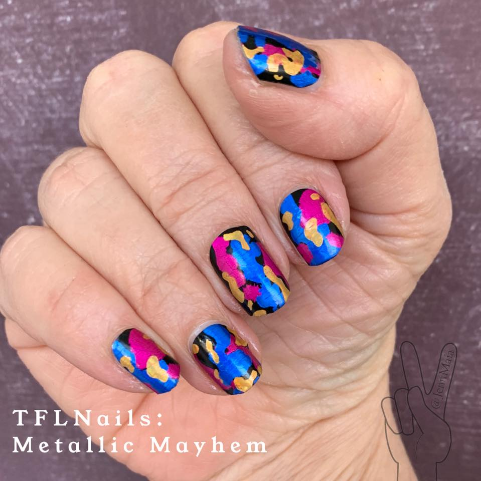 Metallic Mayhem - A TFLNails Exclusive!