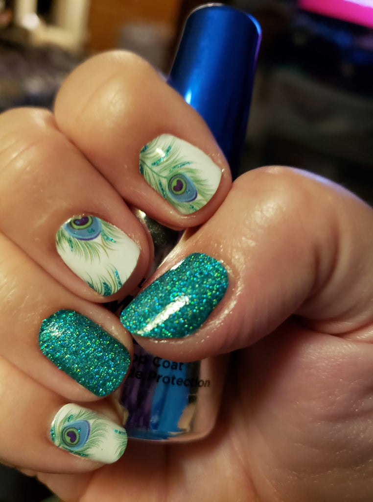 Peacock Paradise - A TFLNails Exclusive!