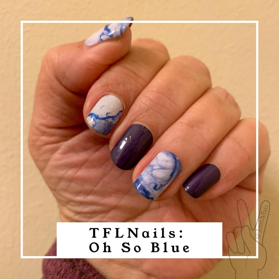 Oh So Blue - A TFLNails Exclusive!