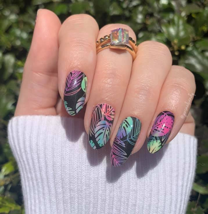 Neon Palm - A TFLNails Exclusive!