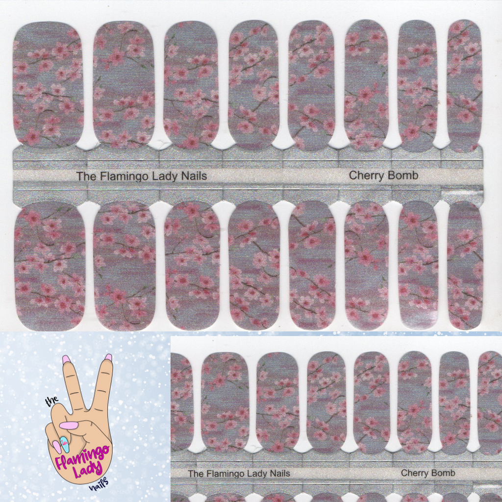 Cherry Bomb - A TFLNails Exclusive!